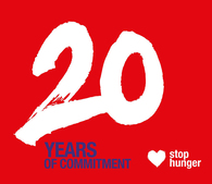 20 years of commitment to help those most in need permanently escape hunger … With enthusiasm, smiles and generosity!