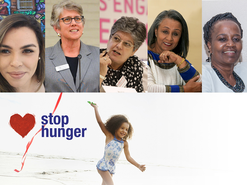 2018 Women Stop Hunger Awards : to reward exemplary initiatives led by women no less exemplary.