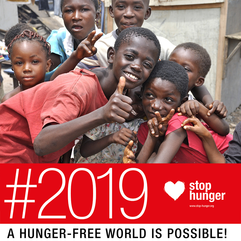 Stop Hunger 2019: We Can Stop Hunger