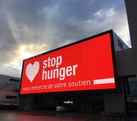 Stop Hunger Donors' Evening of March 12, 2019: Hunger is not inevitable and anything is possible.