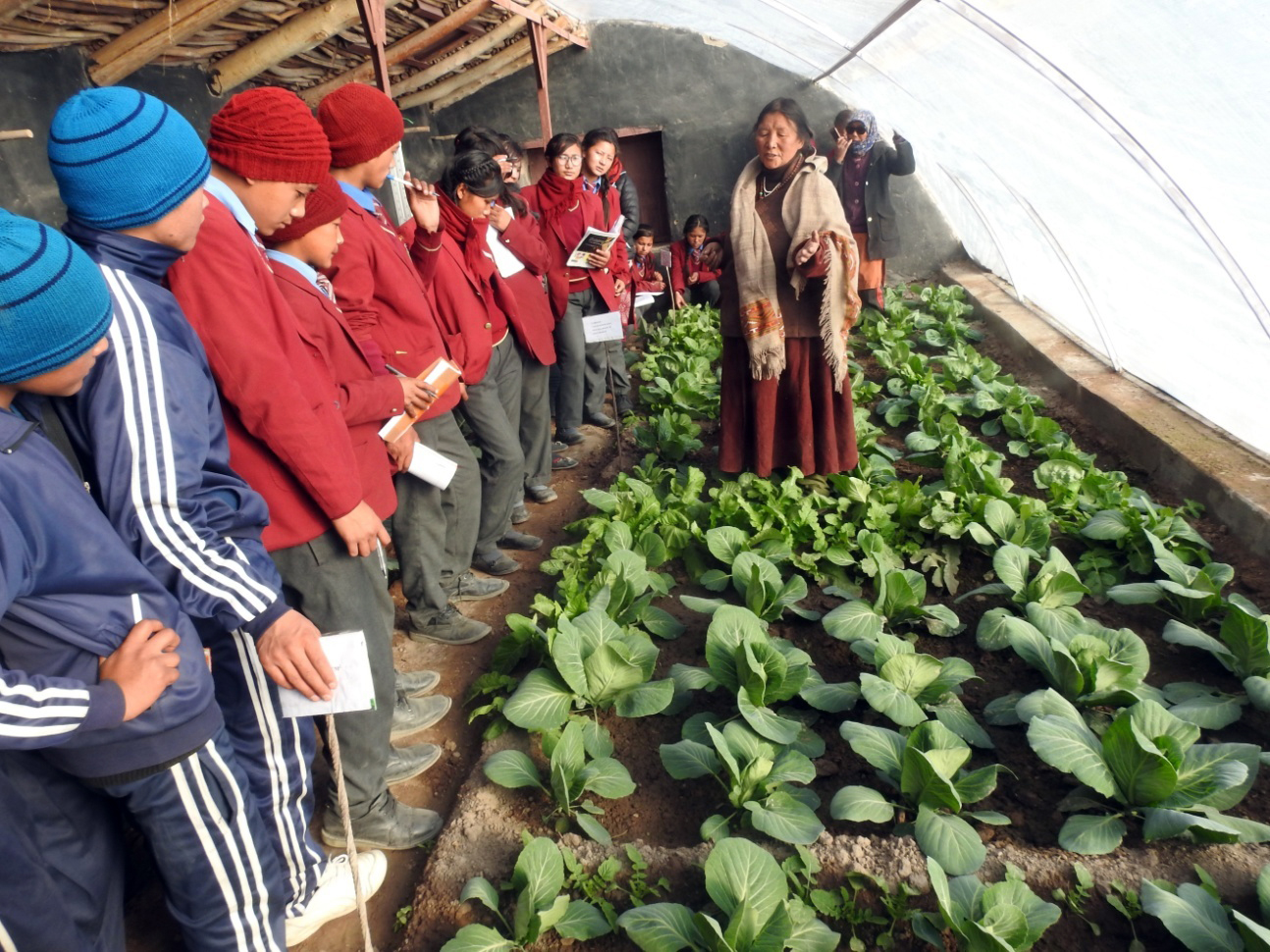 2017-dec-students exposure visit -Share Kashmir University farm-c-LEHO...