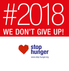 Stop Hunger 2018: against hunger, we don't give up!